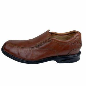 Clarks Mens Colson Knoll Slip On Shoes Brown